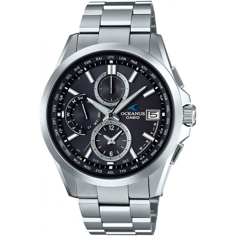 Casio OCW-T2600-1A2 Oceanus Radio Controlled Chronograph // Pre-Owned