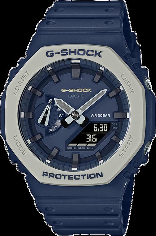 Casio G-Shock GA2110ET-8A CasiOak Earth Tone Blue