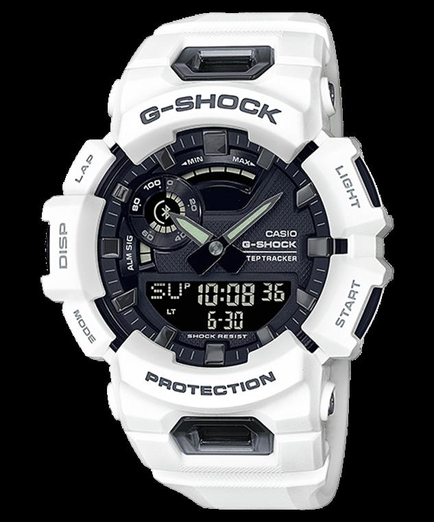 G-Shock GBA900-7A G-SQUAD Steptracker Accelleration Sensor White
