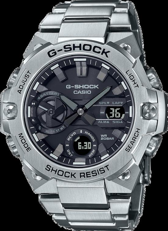 G-Shock GSTB400D-1A G-STEEL Slim Carbon Core Guard Tough Solar
