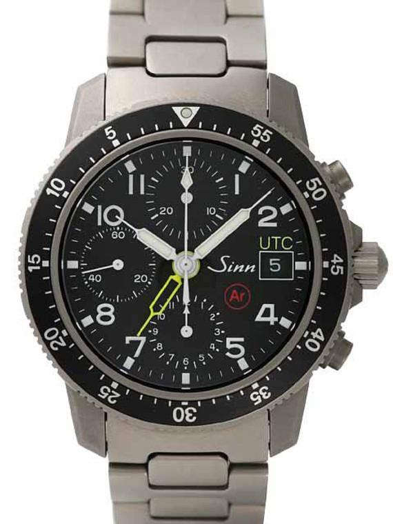 Sinn 103 AR UTC Titanium GMT Chronograph // Pre-Owned