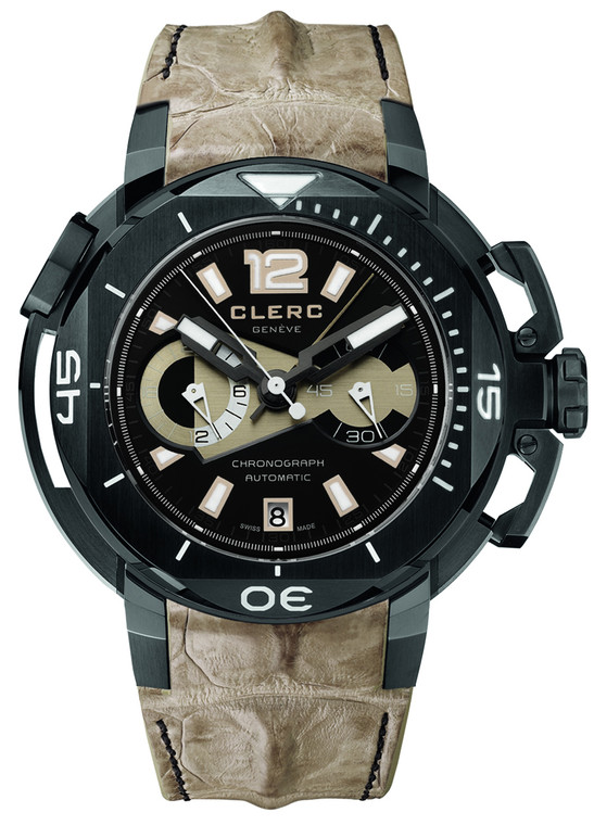 Clerc CHY-266 Hydroscaph Limited Edition Chronograph // Pre-Owned