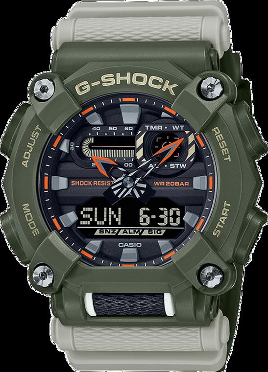 G-Shock GA900HC-3A Heavy-Duty Hidden Coast Ana-Digi