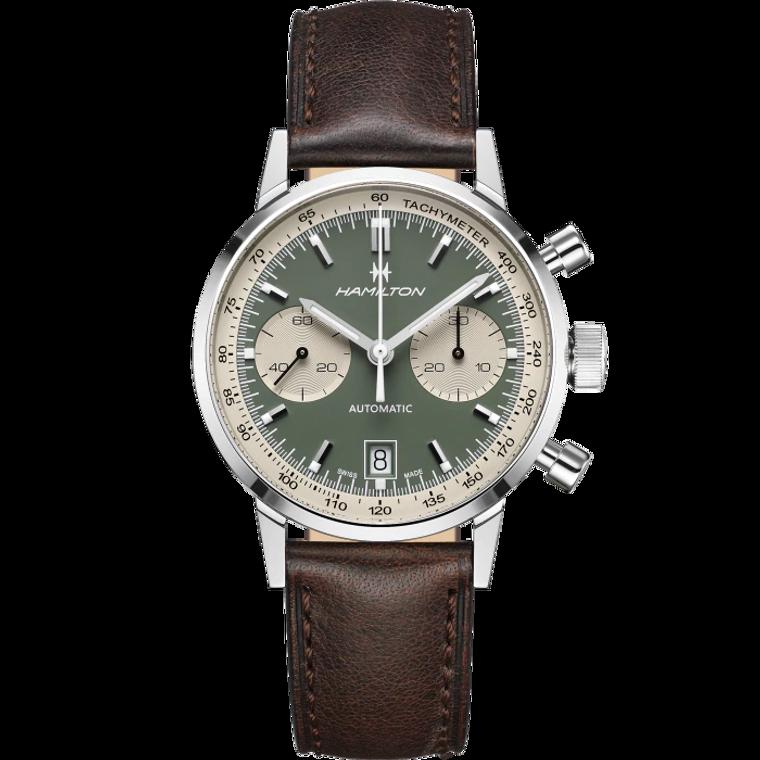 Hamilton H38416560 American Classic Intra-Matic Auto Chronograph 40mm