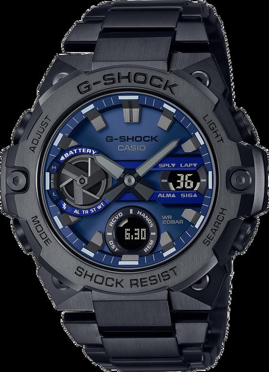G-Shock GSTB400BD-1A2 G-STEEL Solar Bluetooth Slim Black IP