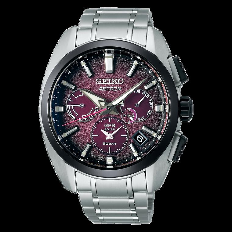 Seiko Astron SSH101 Limited Edition 5X53 Titanium Neon Tokyo GPS Solar