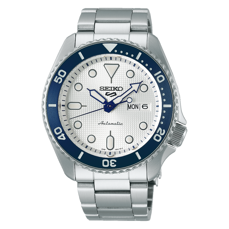 Seiko 5 Sports SRPG47 Limited Edition Wave of Seiko Blue