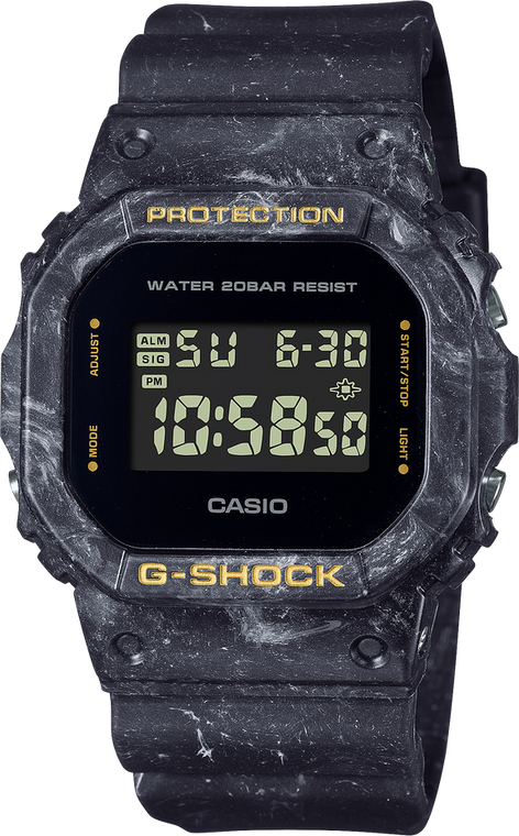 G-Shock DW5600WS-1 Smokey Sea Face Series Square