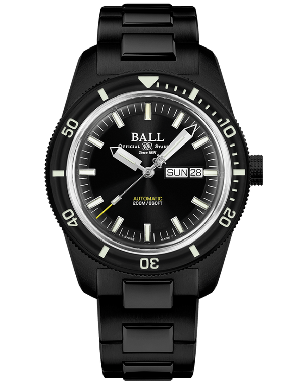 Ball DM3208B-S4-BK Engineer Skindiver Heritage Limited Edition