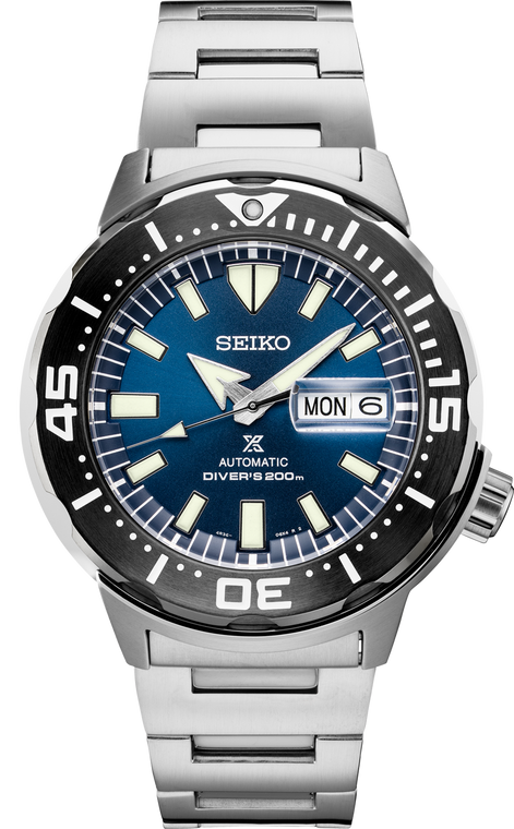 Seiko Prospex SRPD25 Monster Blue Dial // Pre-Owned