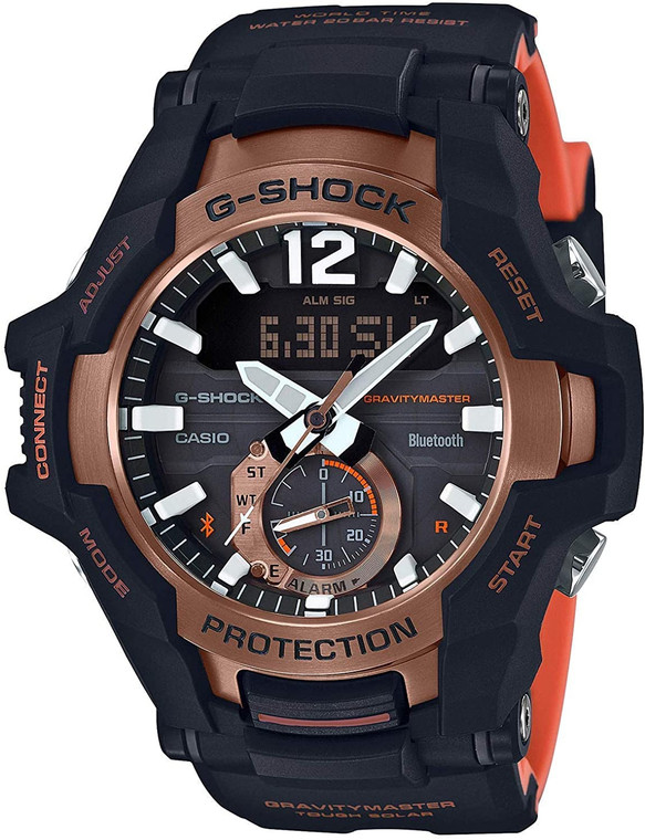 G-Shock GRB100-1A4 Gravity Master Orange // Pre-Owned