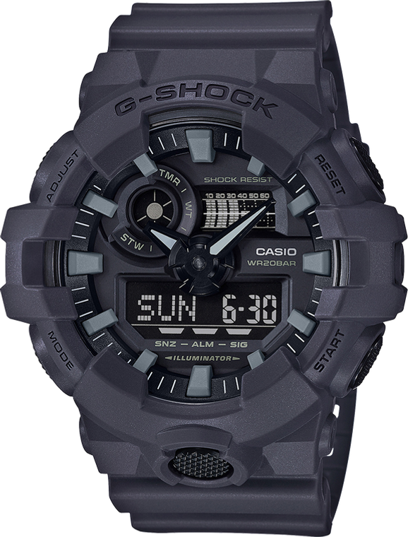G-Shock GA700UC-8A Utility Color Military Uniform Ana-Digi Display // Pre-Owned