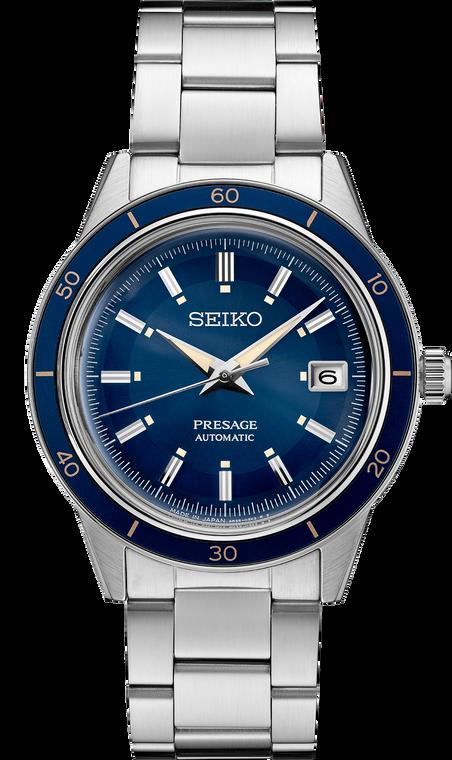 Seiko Presage SRPG05 60's Collection Blue Dial