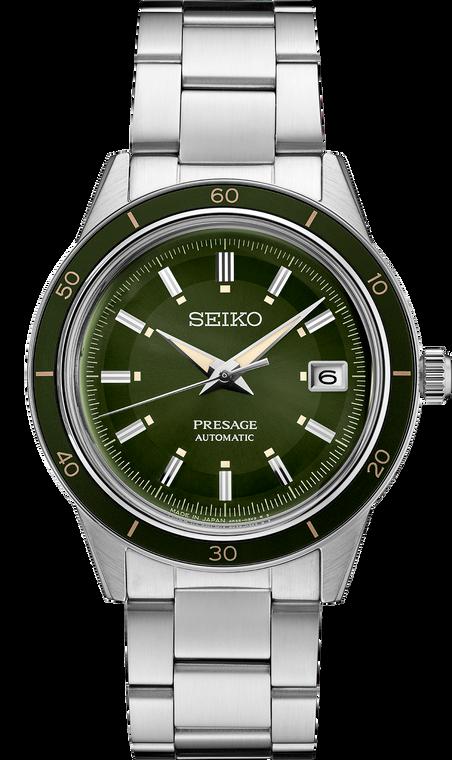 Seiko Presage SRPG07 60's Collection Green Dial