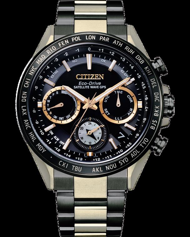 Citizen CC4016-75E Super Titanium Hakuto-R Satellite Wave GPS