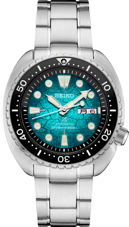 Seiko Prospex SRPH57 King Turtle Shell Special Edition Oceanic Society Green