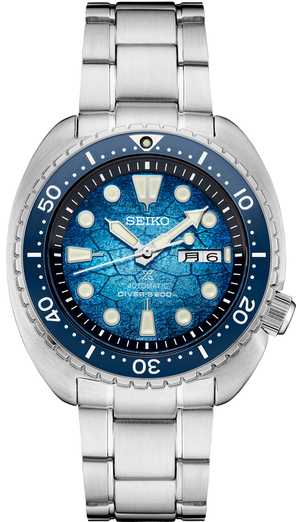 Seiko Prospex SRPH59 King Turtle Shell Special Edition Oceanic Society Blue