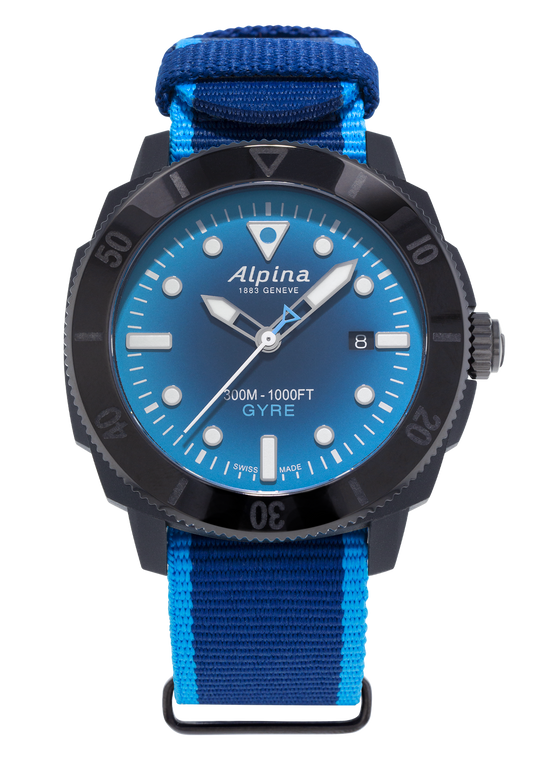 Alpina AL-525LNSB4VG6 Seastrong Diver Gyre Gents Automatic Smoked Blue
