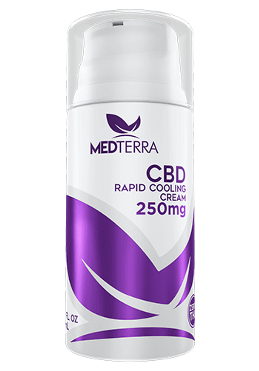 Medterra CBD Rapid Cooling Cream 250MG CBD