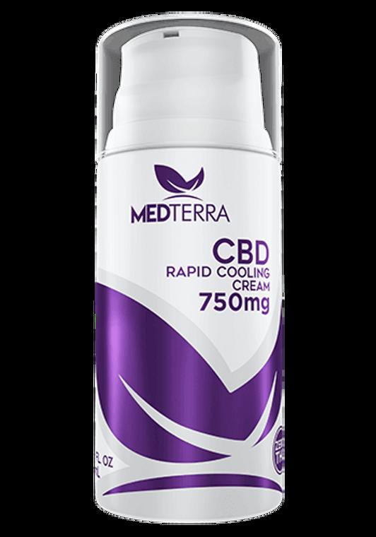 Medterra CBD Rapid Cooling Cream 750MG CBD