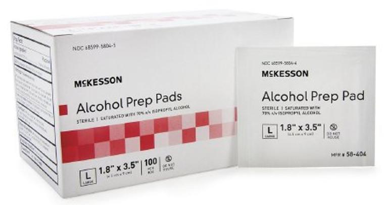 McKesson Alcohol Prep Pads - Large