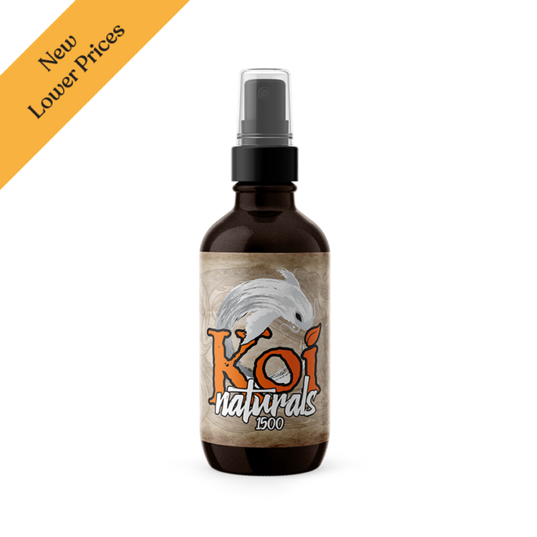 Koi CBD Naturals Hemp Extract CBD Spray Orange Flavored