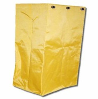 Vinyl Bag for Scissor Folding Laundry Cart. 6 gallon heavy duty laundry cart bag is perfect for the folding X or scissor cart and works for wet or dry storage.