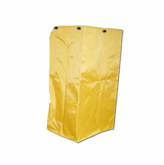 25 Gallon Vinyl Bag for Janitor Cart