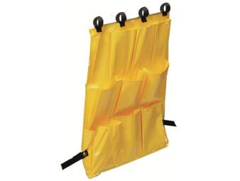 10 pocket Caddy Bag for folding scissor laundry cart