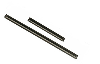Stainless Steel Channel with Soft Rubber Blades, sizes 6 inches to 22 inches; packed 2 same sized blades per order.