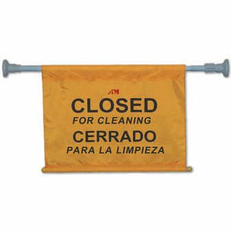 Closed for Cleaning Hanging Sign