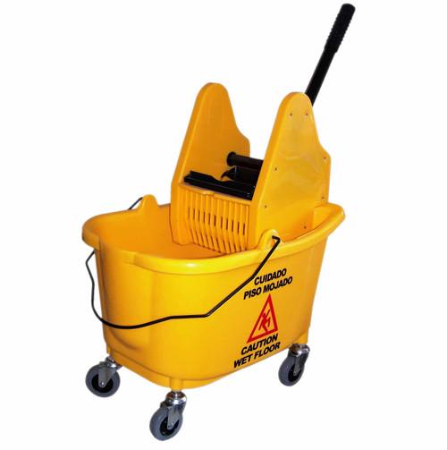 35 Quart Mop Bucket with Down-Press Wringer