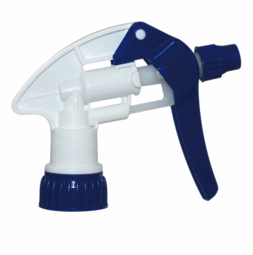 Blue Trigger Sprayer with 9 inch dip tube.