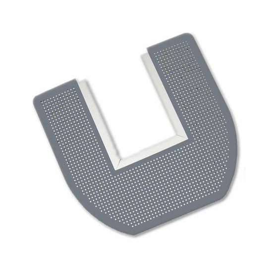 Disposable Toilet Floor Mat 6 each - are used with Commodes. Each mat lasts 4- 6 weeks.