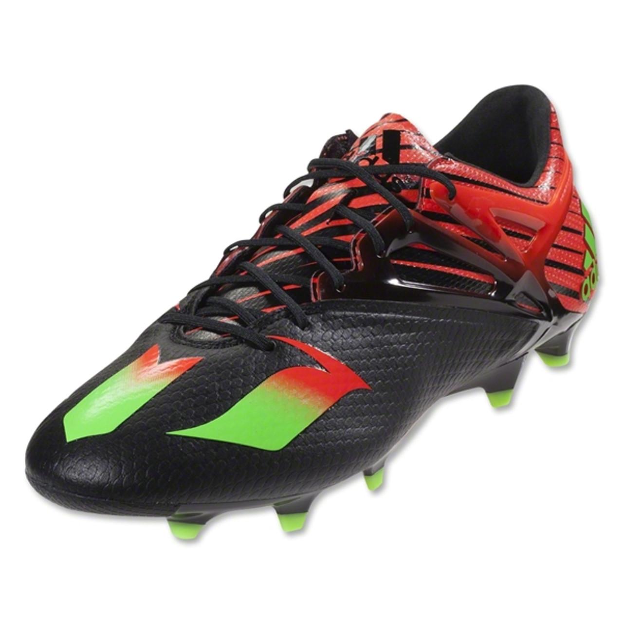 076740e06961 Adidas Messi 15.1 FG/AG - Black/Red - Soccer City