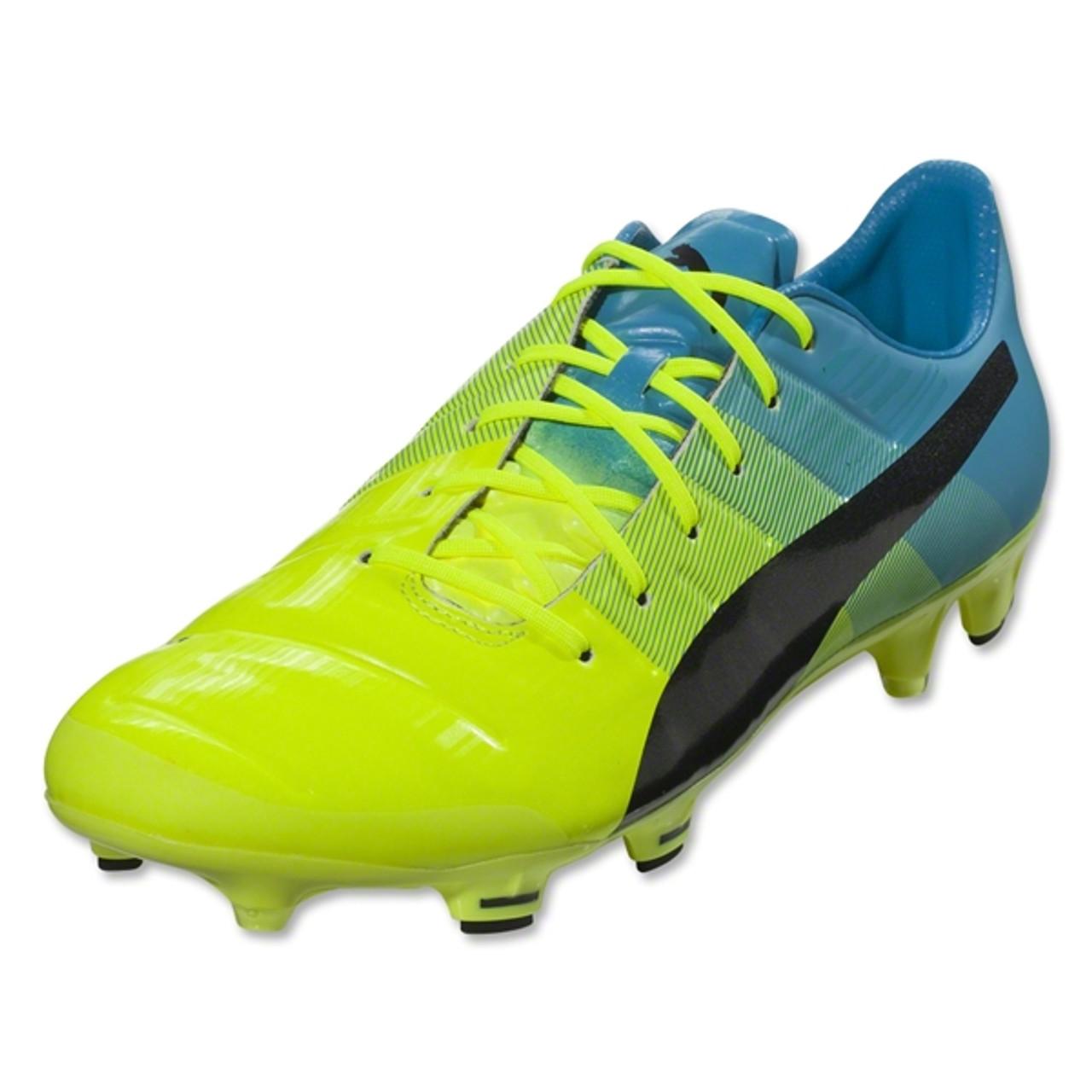 Puma Evopower 1.3 FG - Yellow Blue - Soccer City 14e86a7bc4
