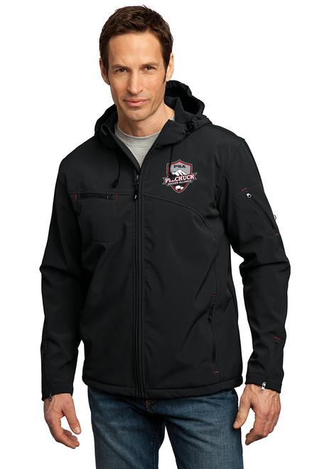 PSA Textured Hooded Softshell Jacket