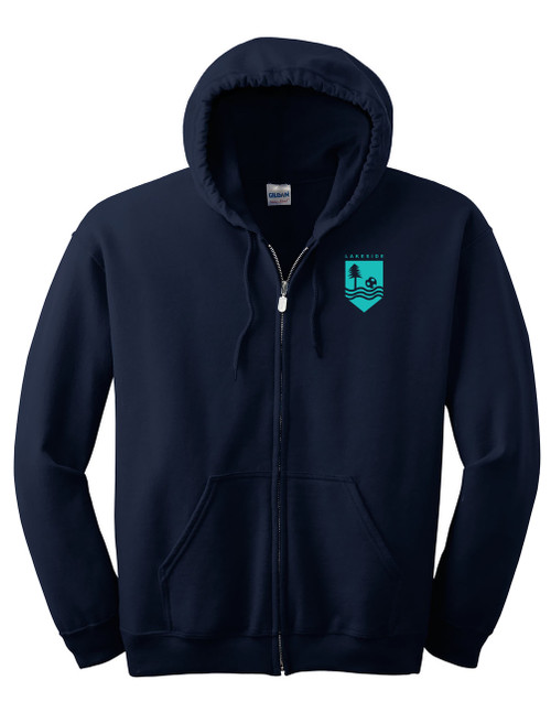 Lakeside Soccer - Full-Zip Sweatshirt, Adult/Youth