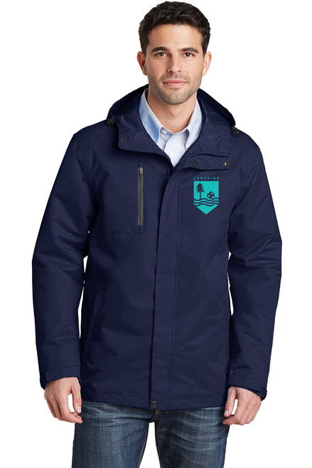 Lakeside Soccer - All-Conditions Jacket, Mens