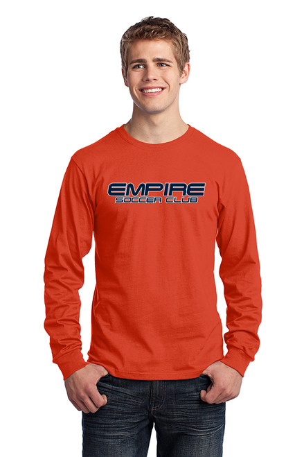 Empire Longsleeve Shirt (Orange)