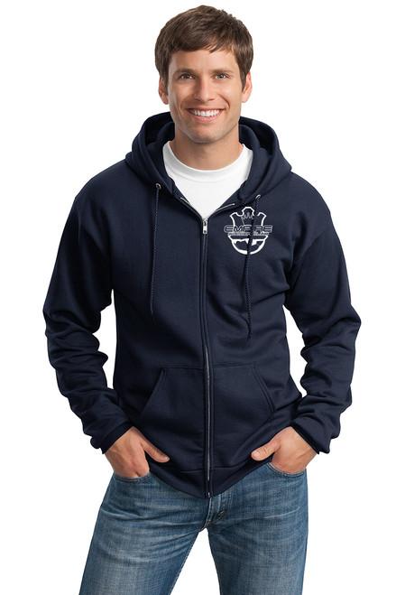 Empire Full Zip Sweatshirt, Front