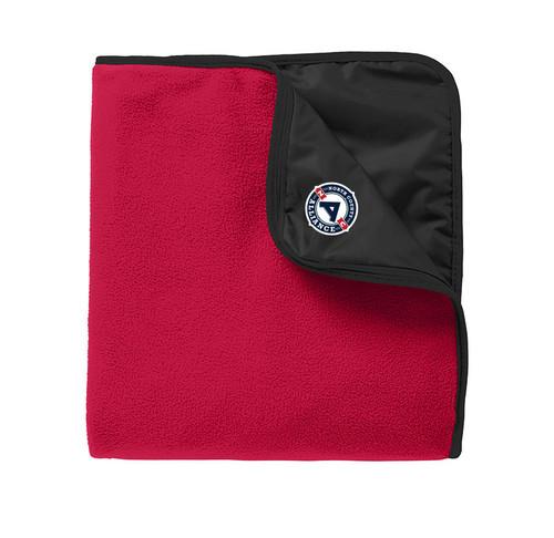 NCA - Red Fleece Blanket