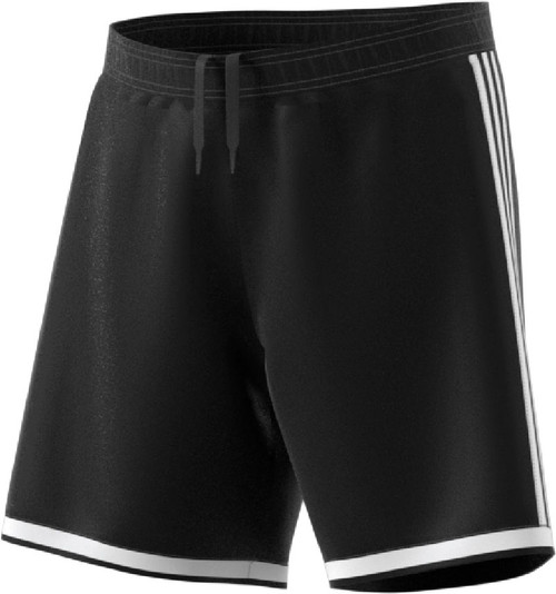 adidas Regista 18 Shorts, Black, Front - Mens