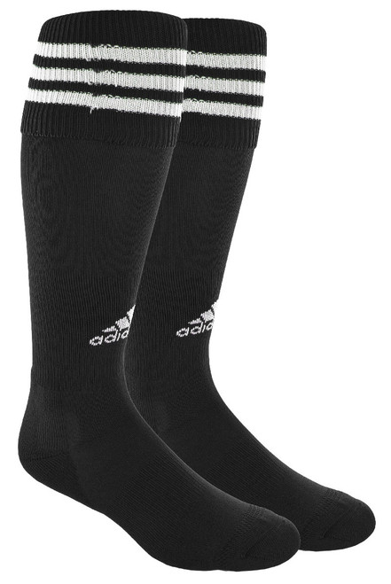 adidas Copa Zone III Soccer Sock, Black/White