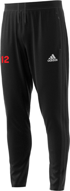 adidas Condivo 18 Training Pants, Front, Black - Mens
