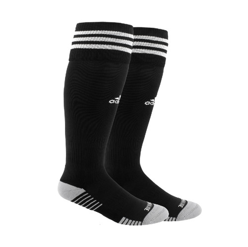 adidas Copa Zone IV Soccer Sock, Black/White