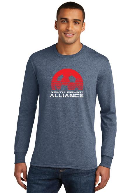 NCA Fan Longsleeve T-shirt : Soccer Ball Logo