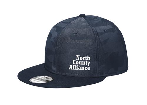 NCA Fan Hat : Navy Camo