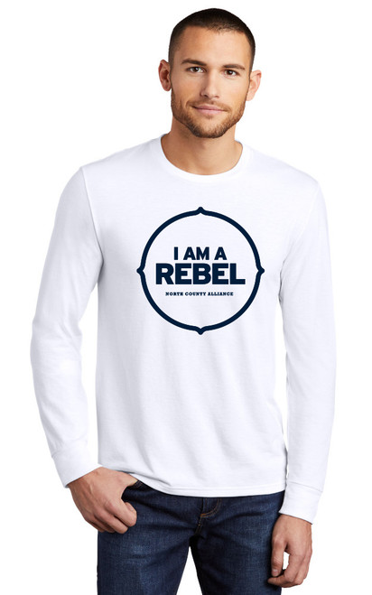 NCA Longsleeve Fan T-shirt : I am a REBEL