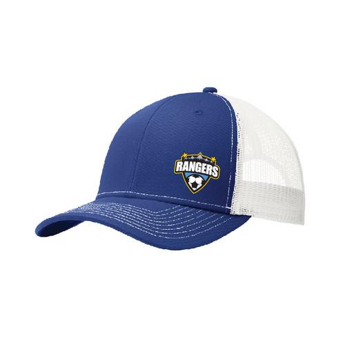 Rangers Fan Trucker Cap